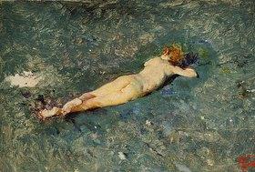 Mariano Fortuny: Weiblicher Akt im Wasser