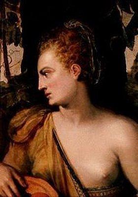 Frans Floris de Vriendt: Weibliche Halbfigur