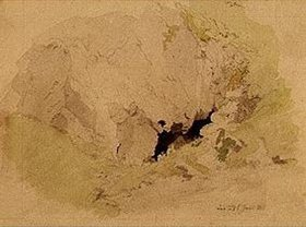 Caspar David Friedrich: Felshöhle