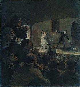 Honoré Daumier: Das Drama. Gegen