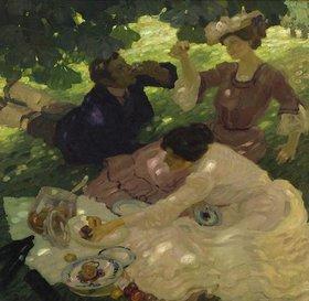 Leo Putz: Picknick I