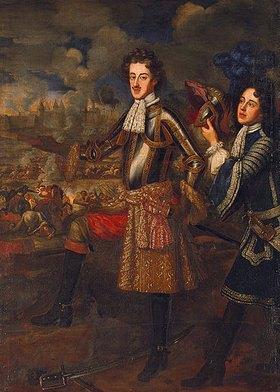 Henri Gascar: Kurfürst Max Emanuel von Bayern bei der Belagerung von Belgrad