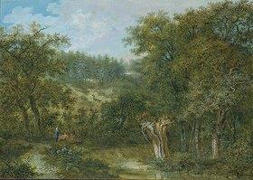 Salomon Gessner: Waldlandschaft