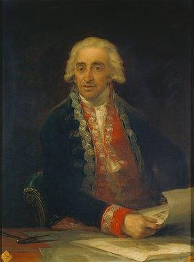 Francisco José de Goya: Juan de Villanueva, Bildnis