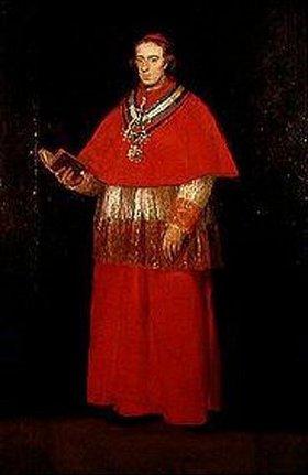 Francisco José de Goya: Der Kardinal Luis Maria de Borbón y Vallabriga