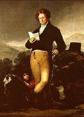 Francisco José de Goya: Der X. Herzog von Osuna. 1816(?)