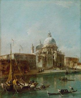 Francesco Guardi: Venedig, Santa Maria della Salute
