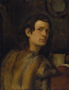 Venezianisch: Brustbild eines jungen Mannes
