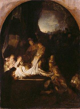 Rembrandt van Rijn: Grablegung Christi