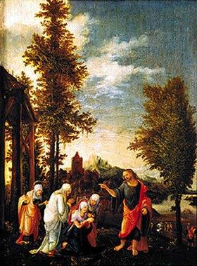 Wolf Huber: Christi Abschied von Maria