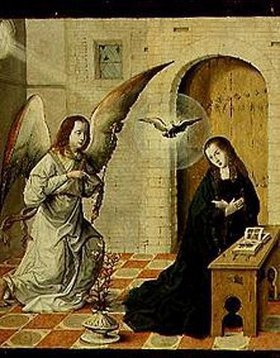 Johann von Flandern: Verkündigung Mariae
