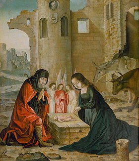 Johann von Flandern: Geburt Christi