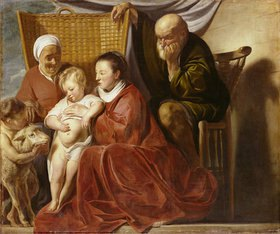 Jacob Jordaens: Die hl. Familie
