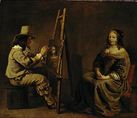 Louis Le Nain: Der Maler mit dem Modell