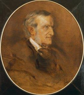 Franz von Lenbach: Richard Wagner