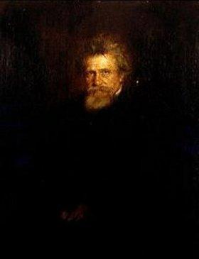 Franz von Lenbach: Bildnis Hermann von Lingg (1820-1905)