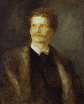 Franz von Lenbach: Bildnis Karl von Piloty