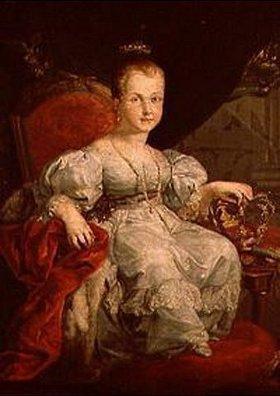 Vicente López: Bildnis der Isabella II. von Spanien als Mädchen