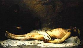 Ludwig von Löfftz: Die Beweinung Christi durch Maria Magdalena