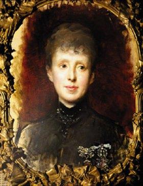 Raimundo de Madrazo y Garreta: Maria Christina von Habsburg