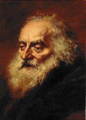 Adolph von Menzel: Kopf eines alten Juden