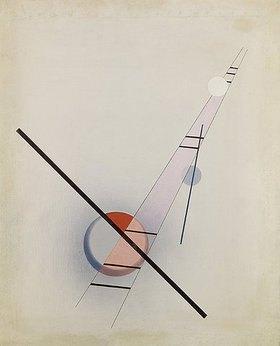 László Moholy-Nagy: Komposition Z IV