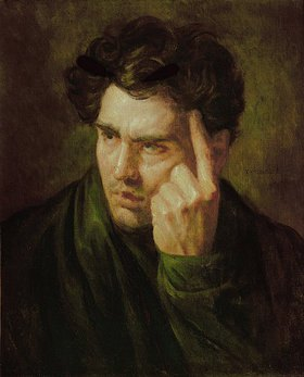 Théodore Géricault: Bildnis George Gordon Lord Byron (1788-1824)