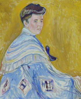 Edvard Munch: Damenbildnis