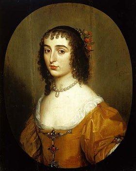 Gerrit van Honthorst: Elisabeth von der Pfalz (1618-1680), Tochter des Winterkönigs Friedrich V