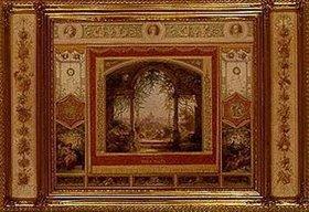 Eugen Napoleon Neureuther: Aussicht von der Villa Malta in Rom
