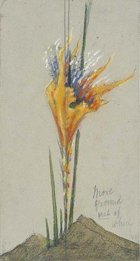 Hermann Obrist: Feuerblume II. (More Ground)