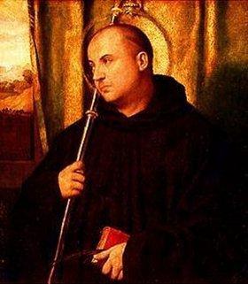 Moretto da Brescia (Alessandro Bonvicino): Heiliger Mönch