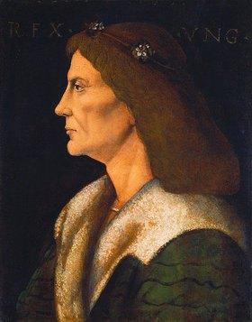 Andrea Mantegna: König Matthias (I.), Corvinus, von Ungarn (1443-1490)
