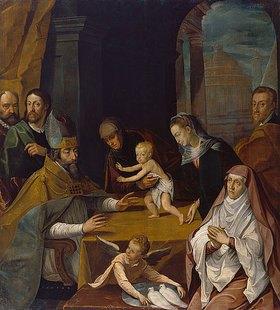 Engelhard de Pee: Darbringung im Tempel