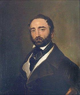 Ferdinand von Rayski: Bildnis des Herrn Wolframsdorf