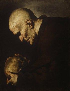 Jusepe de Ribera: Der hl. Petrus von Alcantara in Meditation