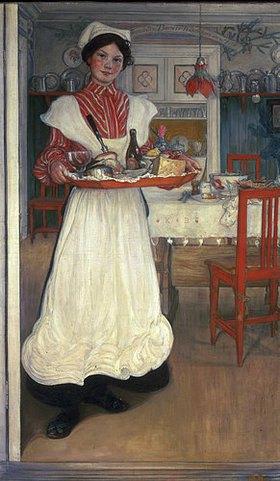 Carl Larsson: Martina bringt das Frühstück