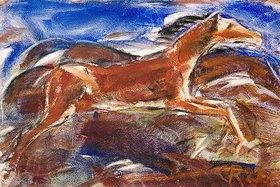 Christian Rohlfs: Springende Pferde