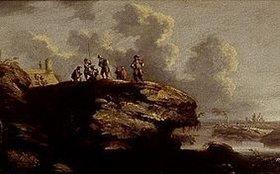 Salvator Rosa: Landschaft mit Soldaten