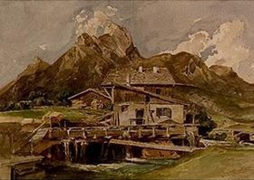 Leopold Rottmann: Die Gehrenspitze bei Reutte/Tirol