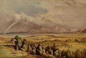 Leopold Rottmann: Prien am Chiemsee