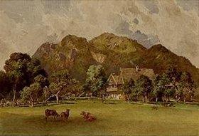 Leopold Rottmann: Die Urtelmühle bei Lengries