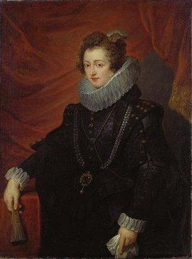 Peter Paul Rubens: Elisabeth von Bourbon (Königin Elisabeth von Spanien), Bildnis