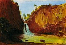Johann Moritz Rugendas: Der Wasserfall von Regla. Anfang 1830-er Jahre
