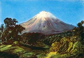 Johann Moritz Rugendas: Der Popocatépetl. Anfang 1830-er Jahre