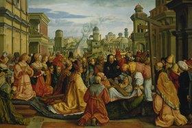 Bartel Beham: Die Geschichte der hl.Helena (Auffindung des Kreuzes Christi)