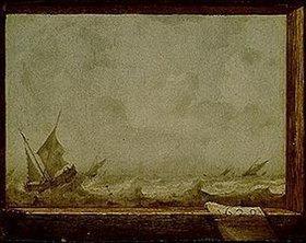 Jan Porcellis d.Ä.: Stürmische See