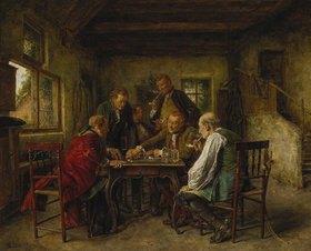 Carl Seiler: Beim Würfelspiel