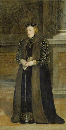 Lambert Sustris: Veronika Vöhlin. (siehe Bildnummer 6999)