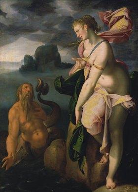 Bartholomäus Spranger: Glaucus und Scylla